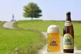 Andechs Weissbier Helles - 500 ml bottle