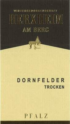 Dornfelder Trocken/Dry from Herxheim Winery in Germany- 750 ml bottle
