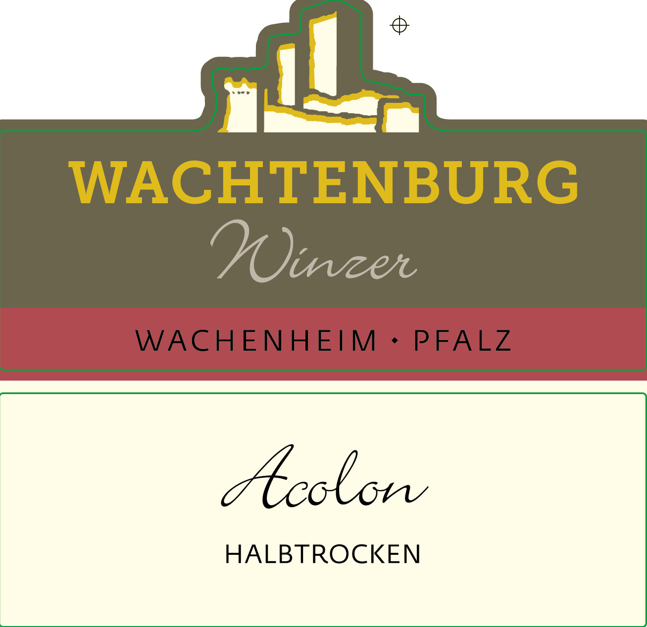 Acolon from Wachtenburg Winzer Winery in Germany- 750 ml bottle