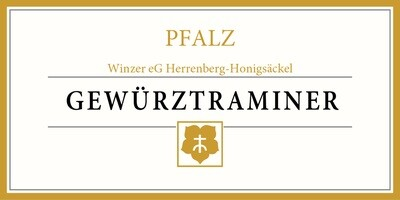 Gewürztraminer Herrenberg-Honigsäckel Winery, Germany - 750 ml