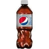 Diet Pepsi - 20 oz bottle