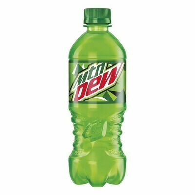 Mountain Dew- 20 oz bottle