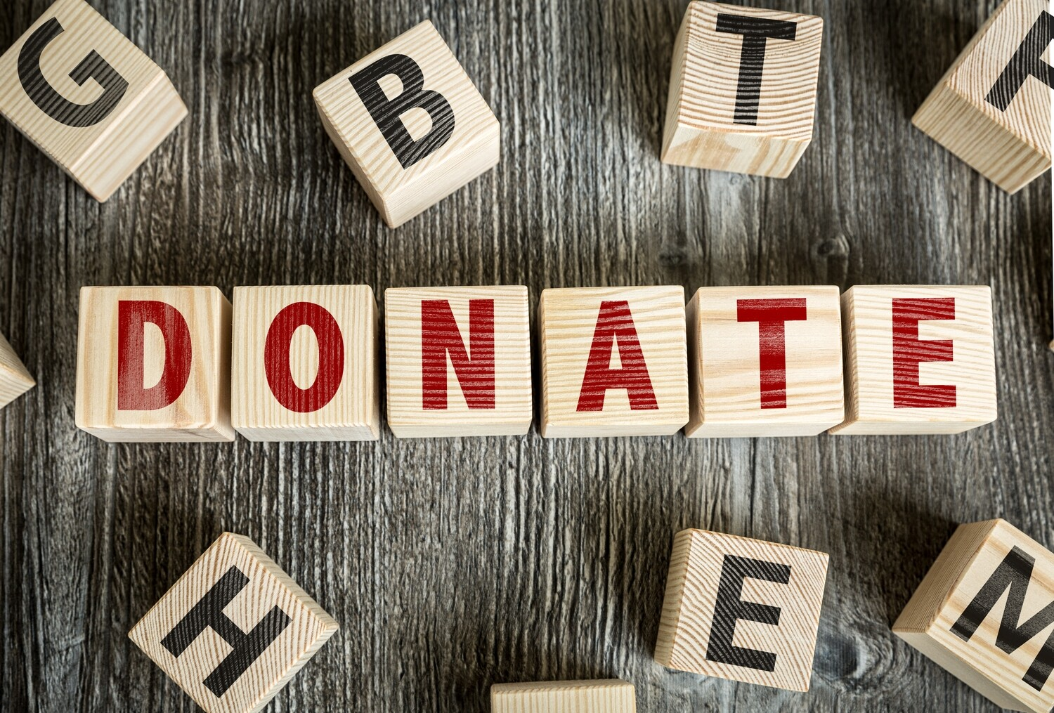 Donate to support the non-profits