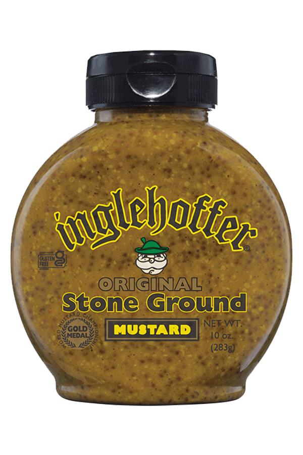 Inglehoffer Mustard - Original Stone Ground - 10 oz