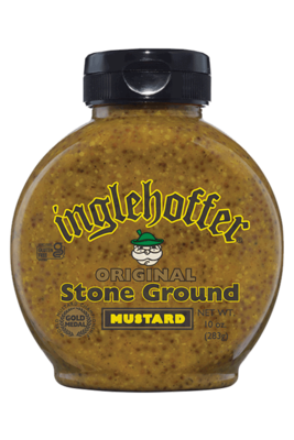 Inglehoffer Mustard - Original Stone Ground - 10 oz