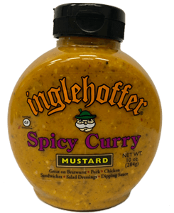 Inglehoffer Mustard - Spicy Curry - 10 oz   - NEW offering from Inglehoffer