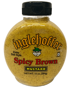 Inglehoffer Mustard - Spicy Brown - 10 oz