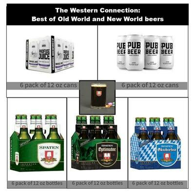 The Western Collection Pack with free Spaten Glass Stein