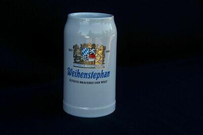 Weihenstephan - Glazed Stoneware Stein/Mug 1 liter