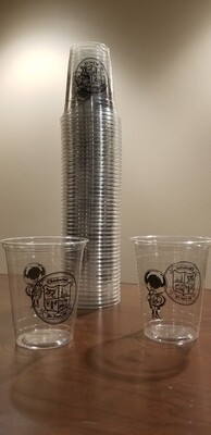 Official Oktoberfest Cups - Papa Logo and Crest; sleeve of 50, 12 oz cups