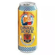 Dinkelacker Case Special 24 x 16 oz cans; plastic steins and livestream
