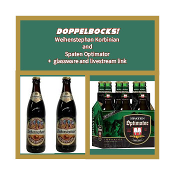 Doppelbock Pack - German doppelbocks and glassware