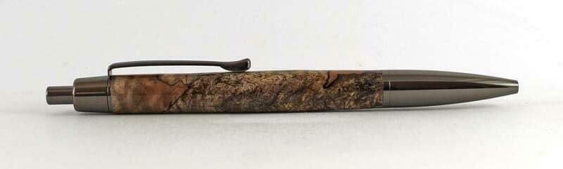 ATHENA Gun metal Click pen kick