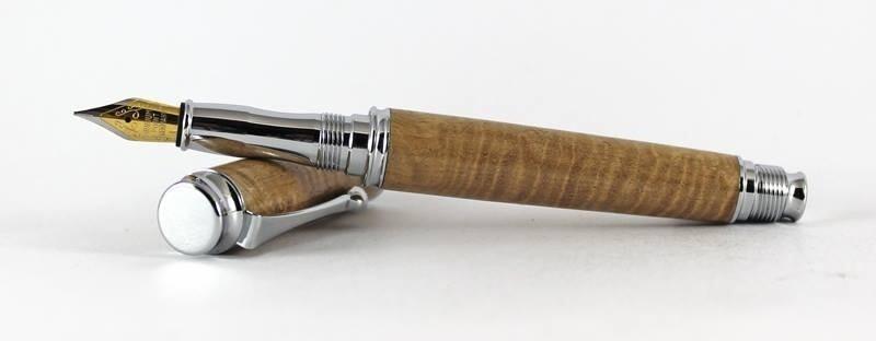 Omega Chrome Fountain Pen Kit