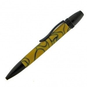 4 x Carbara Black Chrome ballpoint pen kit bundle deal (only one bundle available)