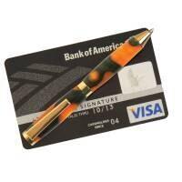 6 x Kit various plated slimline credit card pen kit bundle deal.