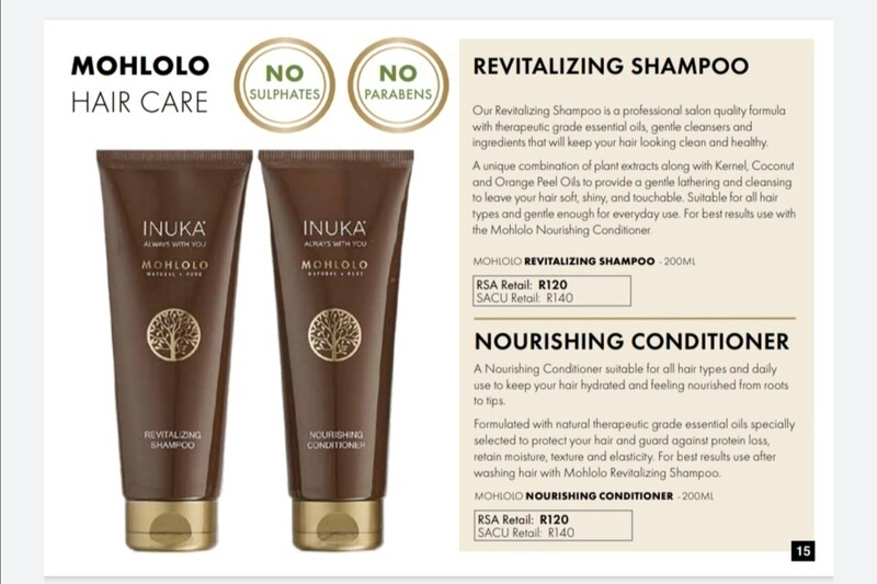 MOHLOLO HAIR CARE RANGE