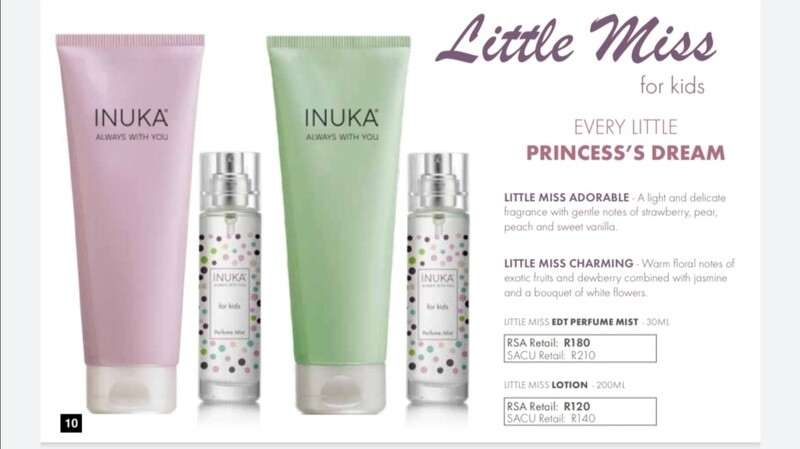 LITTLE MISS FOR KIDS  RANGE