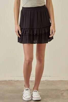 Black Skirt - JS2635