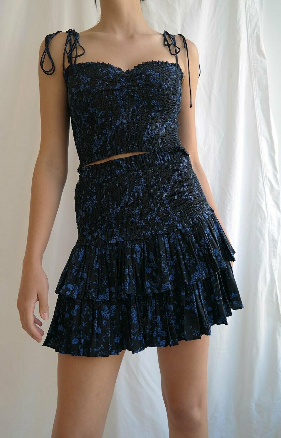 Floral Ruffle Skirt - JS209R
