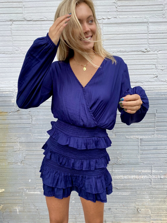 Smocking Ruffle Dress - S17105