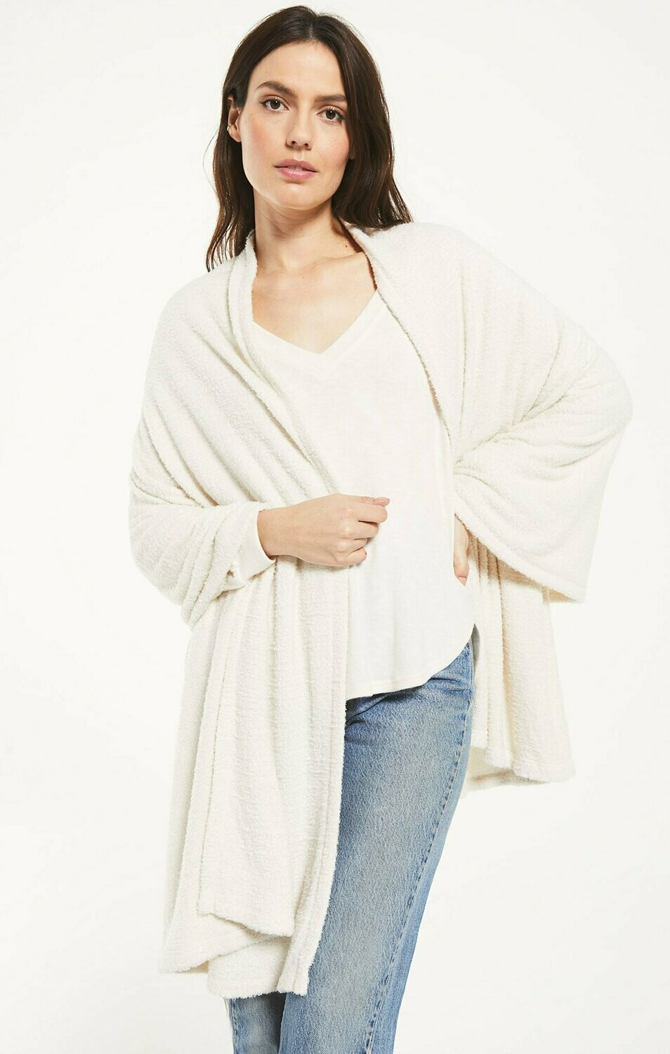 *Kinsey Feather Wrap - ZA203660