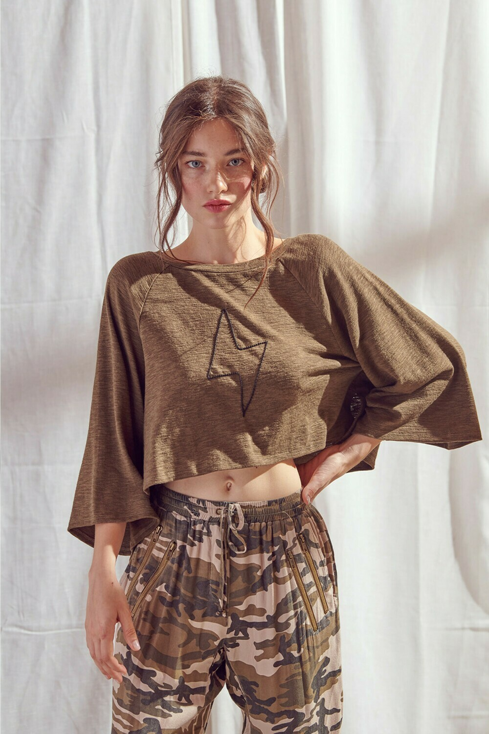 Olive Top - JT2593