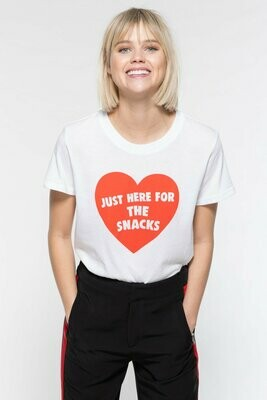 Snacks Loose Tee - W3018-715