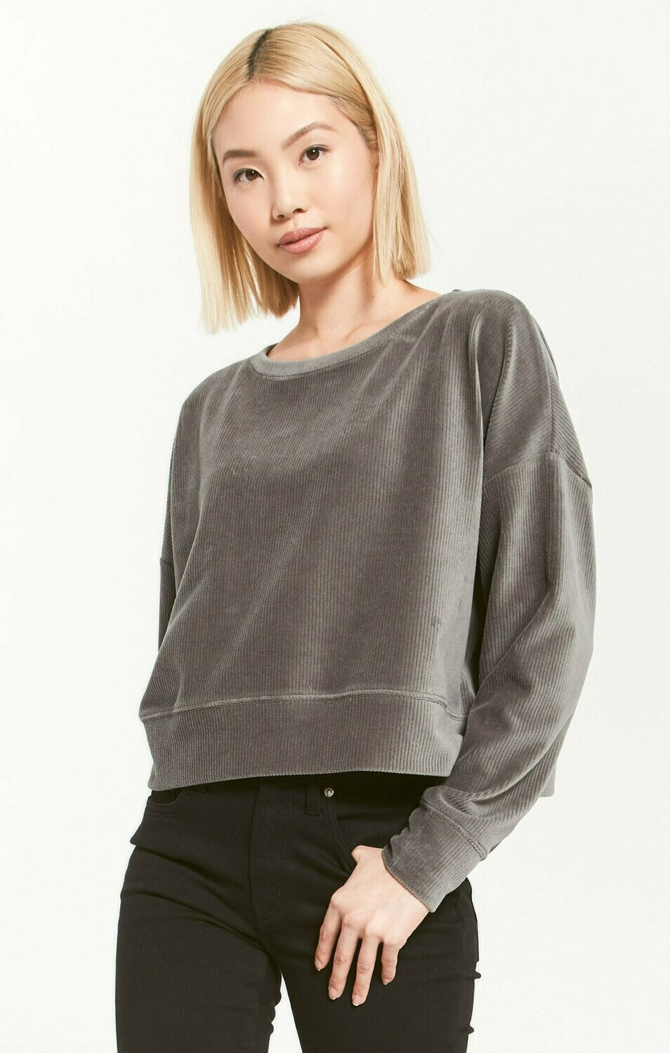 Astrid Cord Pullover - ZT203555S