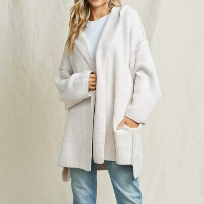 Teddy Fuzzy Jacket - MKN2062