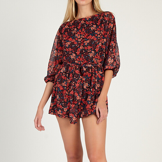 *On A Holiday Romper - AB391927