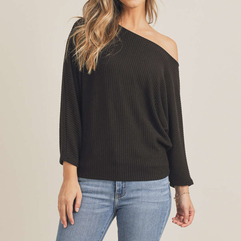*Best Day Ever Knit Top - AB421782