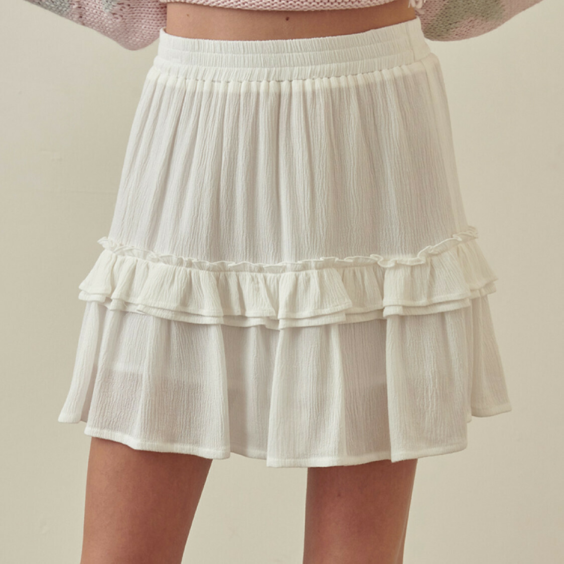 *All Day Layered Skirt - JS2635