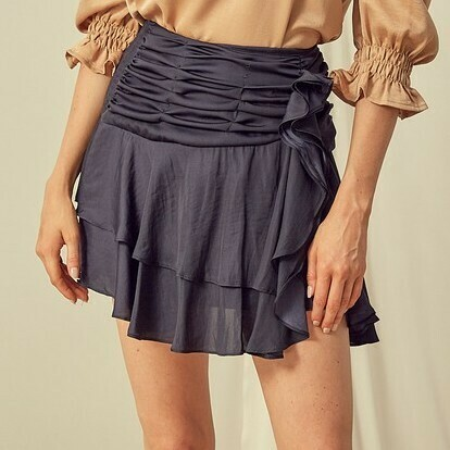 *Ruched Point Skirts - S17175