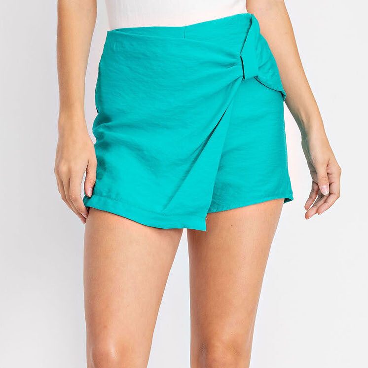 *Mini Wrap Skort Assymetrical - GS2336