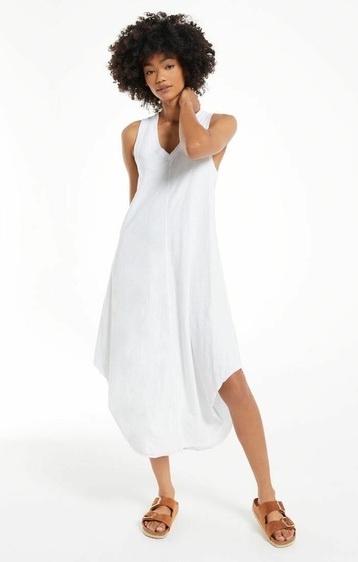 *The Reverie Dress (White) - ZD202581