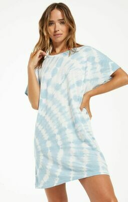 *Launa Swirl Tie-Dye Dress - ZD211264