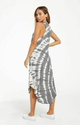 *The Reverie Spiral Tie Dye Dress - ZD211254