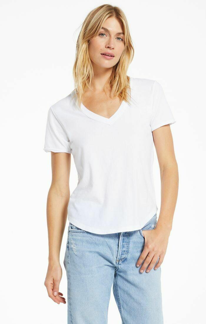 *Organic Cotton V neck - ZT201273