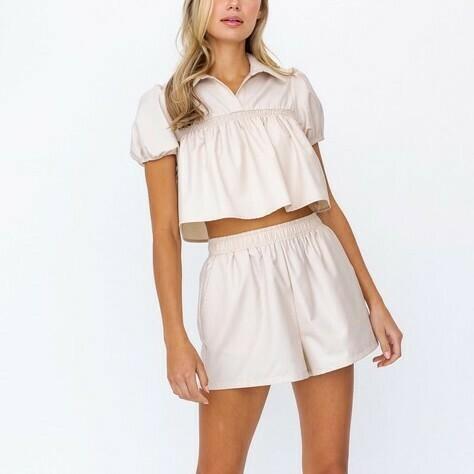 *Elastic Waist Shorts - UP8119