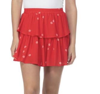 *Woven Skirt -222L-BL