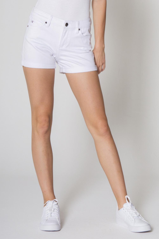 *Ava White Shorts - DSM71C15OPT