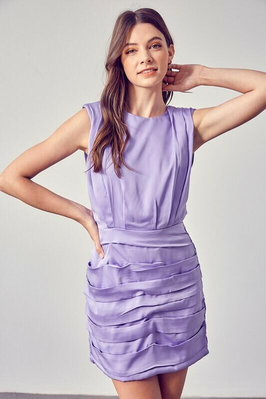 *Ruched Dress - Y19982