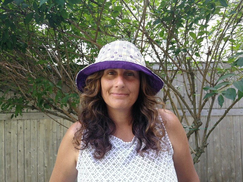 Plaid Scotties Bucket Hat