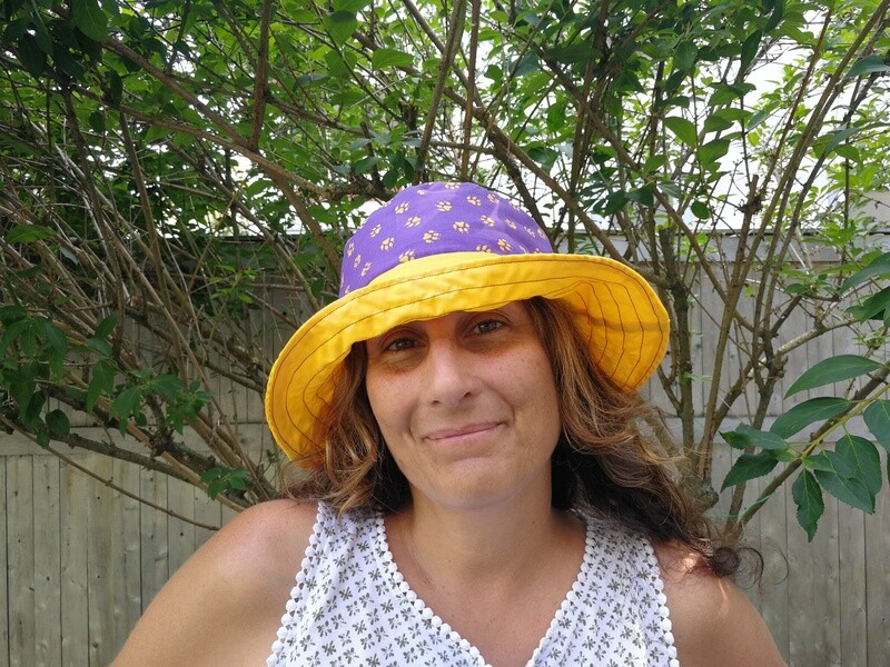 Scotties Paw Print Bucket Hat