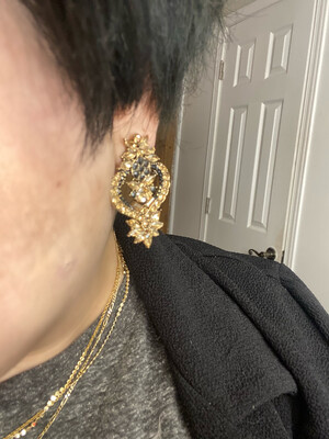 Rachael Statement Earrings