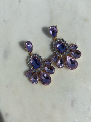 Audrey statement Earrings