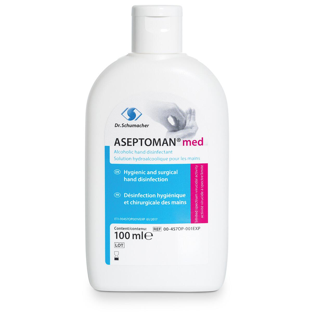 Aseptoman med 100ml Kittelflasche