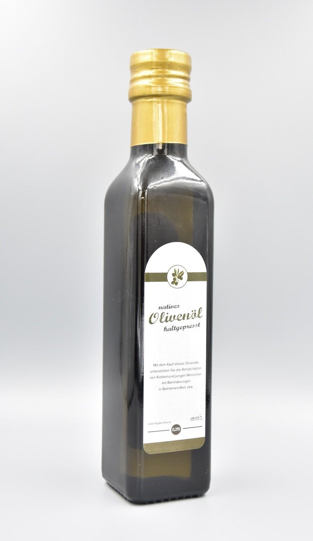 Olivenöl aus dem Heiligen Land 0,25 Liter