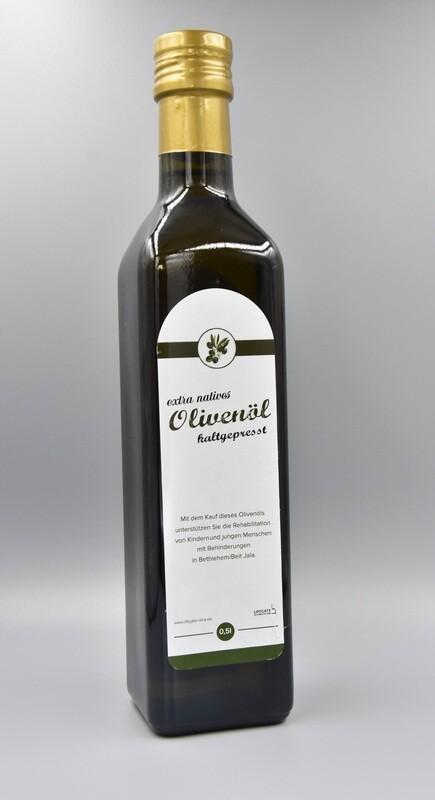 Olivenöl aus dem Heiligen Land 0,5 Liter